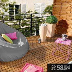 日式阳台花园设计图片