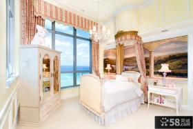 欧式古典儿童房装修设计