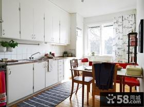 56平米小户型简约自然的厨房装修效果图大全2014图片