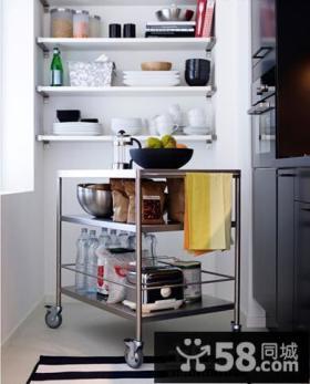 简约式厨房隔断柜装修设计