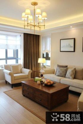 温馨现代风格装潢二居室设计
