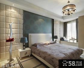 卧室床头背景墙装修效果图大全图片