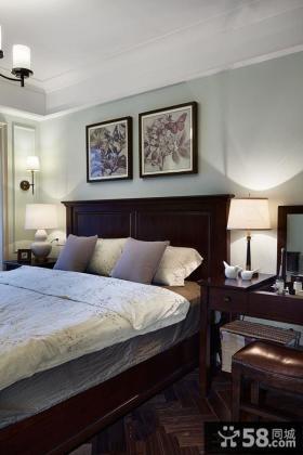 优质美式卧室床头装饰灯具挂画图片
