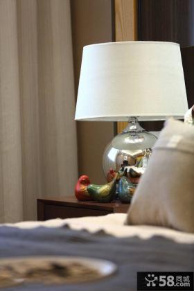 时尚家居卧室灯饰图片