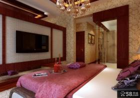 优质欧式卧室背景墙装修效果图