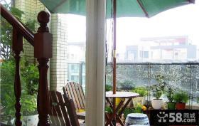 露台阳台花园装修图片