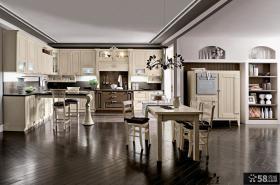 现代欧式风格家庭橱柜图片