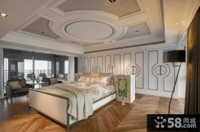 时尚美式别墅卧室效果图