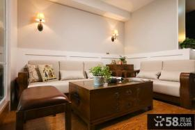 新中式风格客厅家装效果图片