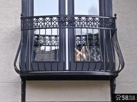 现代不锈钢阳台护栏图片