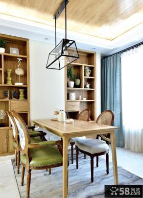 美式风格餐厅家居装饰效果图片