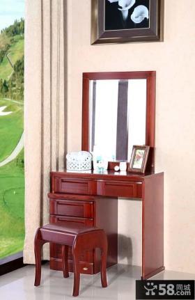 简单卧室梳妆台设计效果图