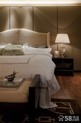 美式装修卧室床头灯具图片大全