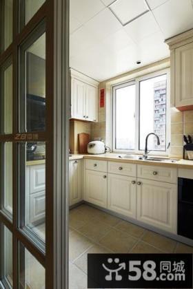简欧风格厨房设计效果图