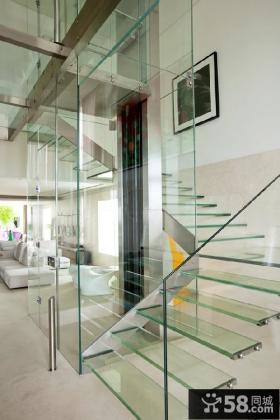 复式楼梯设计图大全
