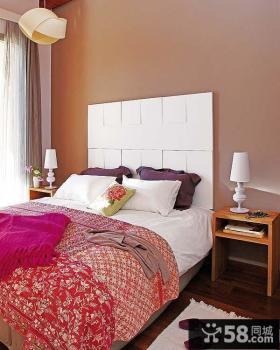 50平米小户型现代青春的卧室装修效果图大全2012图片