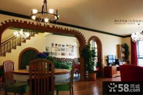 小复式家庭餐厅装修效果图
