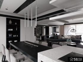 现代复式户型室内装修图片