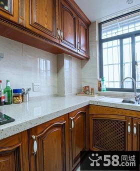 美式小厨房橱柜欣赏