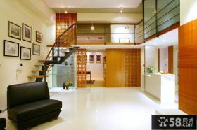 现代简单禅风复式家居装修