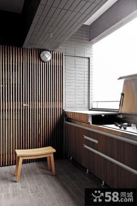 优质家居阳台厨房装修效果图