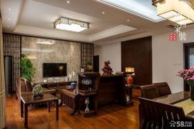 中式风格客厅吊顶图片