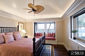卧室飘窗装潢设计