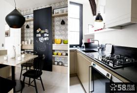 现代家居厨房装修效果图大全