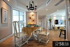 素雅新中式家居餐厅设计