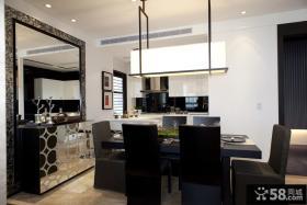 现代摩登家庭餐厅设计
