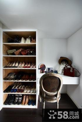 家装简约鞋柜设计