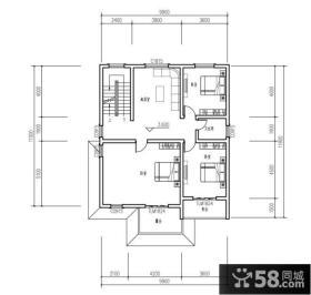 二层别墅图纸