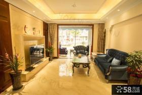 新古典风格两室一厅装修效果图