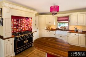欧式开放式厨房吊顶装修效果图大全2013图片