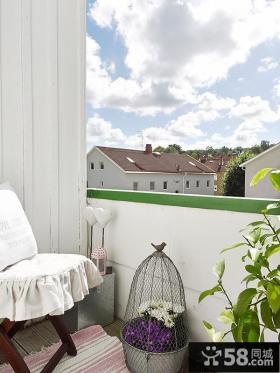 二居室阳台装修效果图大全图片