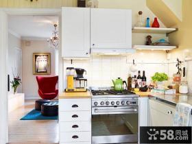 北欧风格小户型家居厨房装饰效果图
