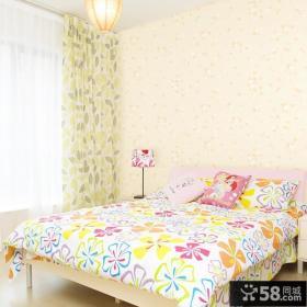 卧室小清新碎花壁纸图片