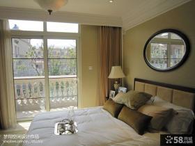 欧式风格卧室阳台隔断效果图欣赏