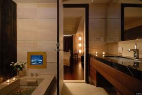 现代风格美式装修卫生间设计