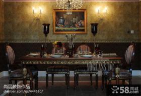 餐厅装饰壁画图片大全