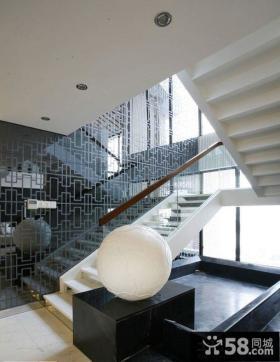 复式楼室内楼梯装修设计图