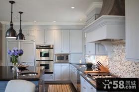 汇景御泉香山厨房橱柜地中海风格装饰