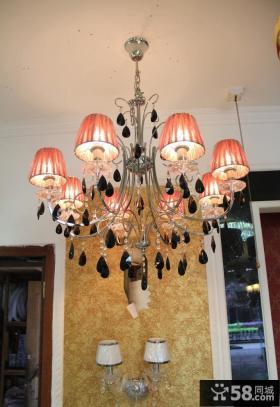 优质欧式客厅水晶灯图片