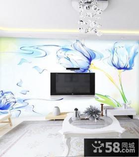 宜家装修设计电视背景墙图片欣赏