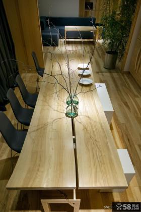 现代简约家庭餐厅装修效果图欣赏