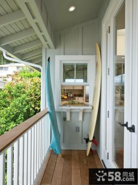 家庭设计阳台窗户图片