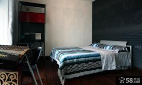 现代卧室装潢效果图大全