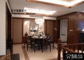 中式现代风格餐厅装修效果图