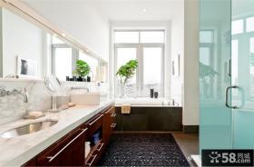 顶层复式装修效果图 复式楼卫生间装修效果图
