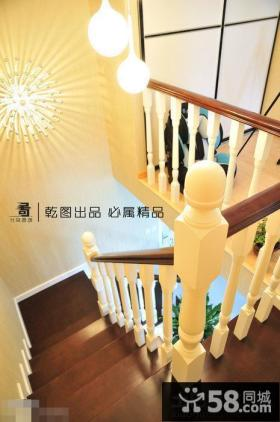 复式楼楼梯设计效果图片